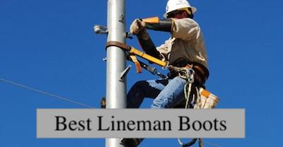 best climbing boots for lineman